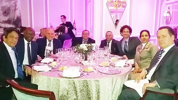 Al cumpleaños en Madrid fueron invitados Reinaldo Escobar, Manuel Cuesta Morúa, Dagoberto Valdés, Roberto de Jesús Guerra, Rolando Ferrer, Boris González Arenas y Yusmila Reyna.