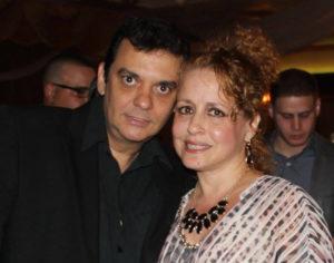 Armando Añel e Idabell Rosales.