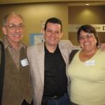 Mit der Professoren Dr. Raul Fernandez und Dr. Lourdes Martinez Echazabal. Irvine, U.S.A, 2008.