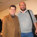 Mit dem mexicanischen Schriftsteller Eduardo Antonio Parra, Internationales Literaturfestival Berlin. Berlin, Deutschland, 2007.