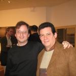 Mit dem argentinischen Schriftsteller Martin Cohen, Internationales Literaturfestival Berlin. Berlin, Deutschland, 2007.