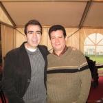 Mit dem kolumbianischen Schriftsteller Jorge Franco Ramos, Internationales Literaturfestival Berlin. Berlin, Deutschland, 2007.