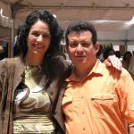 """Veranstaltung """"Festival de la Palabra"""" von Puerto Rico 2010: Mit der ecuadorianische Schriftstellerin Gabriela Alemán. Puerto Rico, Mai 2010."""