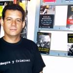 """In der Buchhandlung """"Negra y Criminal"""". Barcelona, Spanien, 2004."""