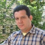 Amir Valle, kubanischer Schrifsteller und Journalist 12. Berlin, Deutschland.