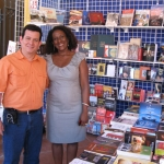 Festival de la Palabra: With the Puertorican writer Mayra Santos Febres. Puerto Rico, May 2010.