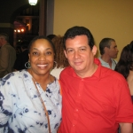 Festival de la Palabra: With the Puertorican writer Yolanda Arroyo. Puerto Rico, May 2010.