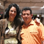 Festival de la Palabra: With the Ecuatorian writer Gabriela Aleman. Puerto Rico, May 2010.