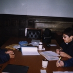 CONARTE Creation Fellowship. As a jury with Mexican writer Leticia Herrera and another colleague. Monterrey, Mexico, November 2002.4