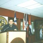 """Dominican-Puerto Rican Weekend"". Attending a conference at Sagrado Corazón University. San Juan, Puerto Rico, September 2000."