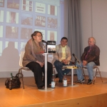 """""""Salon Exil"""" of the German PEN Club. Presentation dedicated to his work. Accompanied by the German translator and Vicepresident of PEN Christa Schüenke. Berlin, Germany, September 2010."""