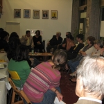 """""""Belles Latinas"""" Festival. In a conversation with the audience, Lyon. France, October 2010."""