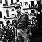 Amir Valle durante el Servicio Militar