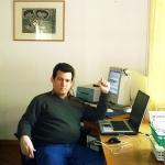 """""""Vivir durante seis meses en la Casa de Campo del Premio Nobel Alemán Heinrich Böll significó el reencuentro con las lecturas que hice en Cuba de ese escritor"""", Langenbroich, Alemania, Marzo-Agosto 2006."""