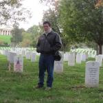 En el Cementerio de Arlington, Washington, Estados Unidos, noviembre 2011.