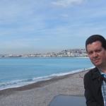 En Niza, Francia, mayo 2012.